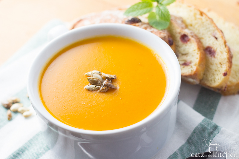 Creamy Slow-Cooker Sweet Potato and Butternut Squash Soup