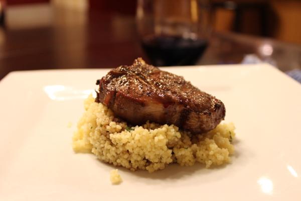 Guinness Lamb Loin Chops