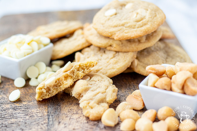 White Chocolate Macadamia Nut Cookies ingredients