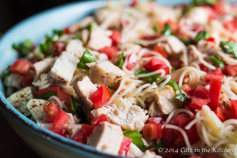 Bruschetta Chicken Capellini