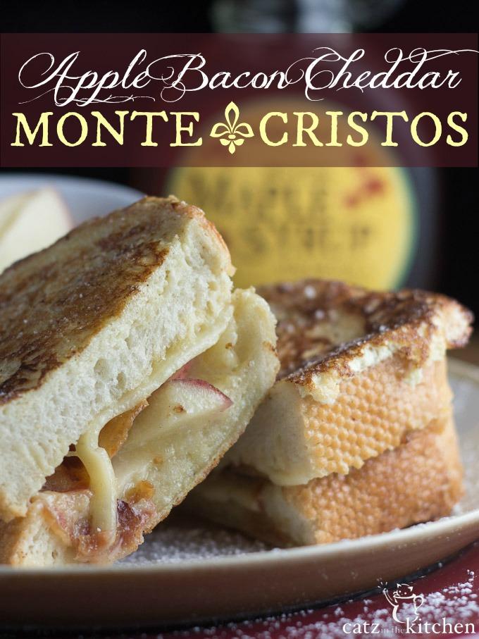 Apple Bacon Cheddar Monte Cristos
