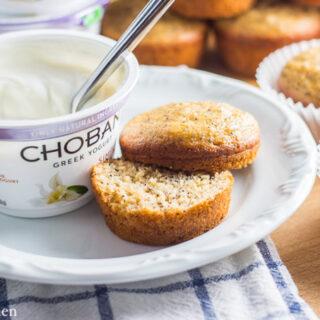 Healthier Poppyseed Muffins