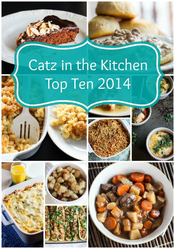 Top Ten 2014 | Catz in the Kitchen | catzinthekitchen.com #NewYears