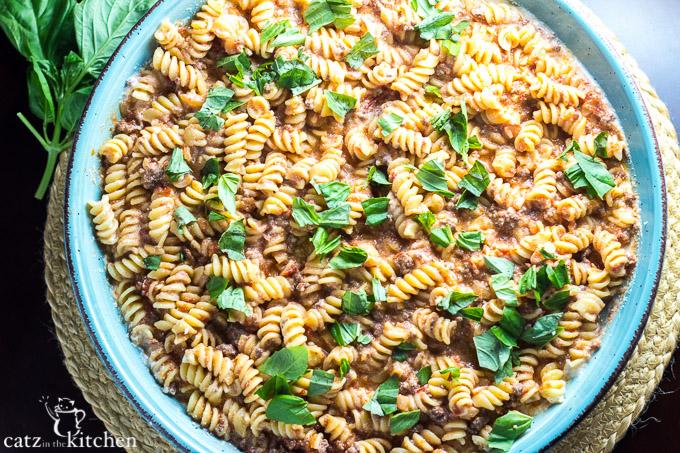 Pastasagna   Catz in the Kitchen   catzinthekitchen.com #pasta