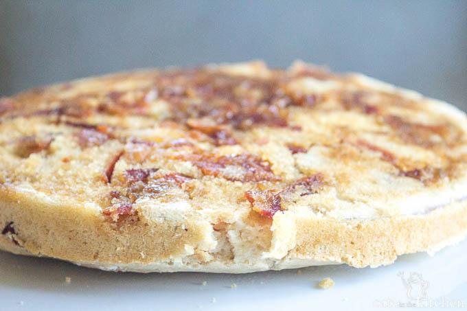 Bacon Upside Down Pancake   Catz in the Kitchen   catzinthekitchen.com #bacon