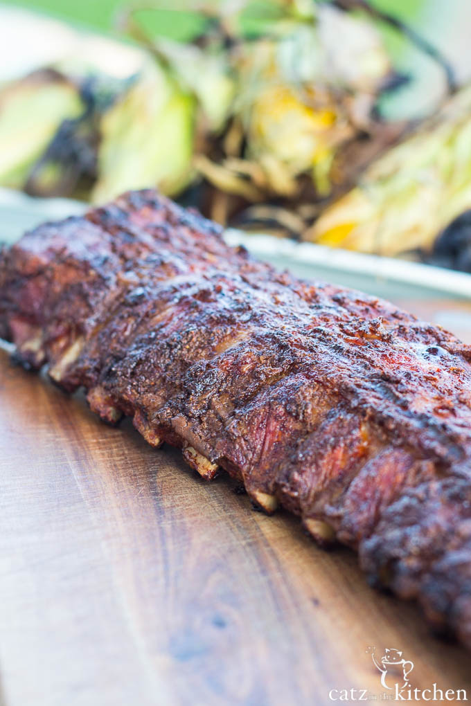 Barbecue Baby Back Ribs   Catz in the Kitchen   catzinthekitchen.com #BBQ #4thofJuly #Ribs