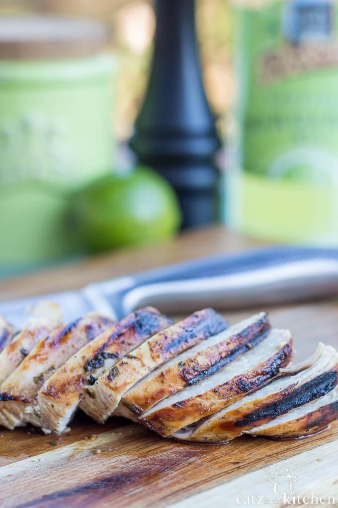 Margarita Chicken | Catz in the Kitchen | catzinthekitchen.com #margarita