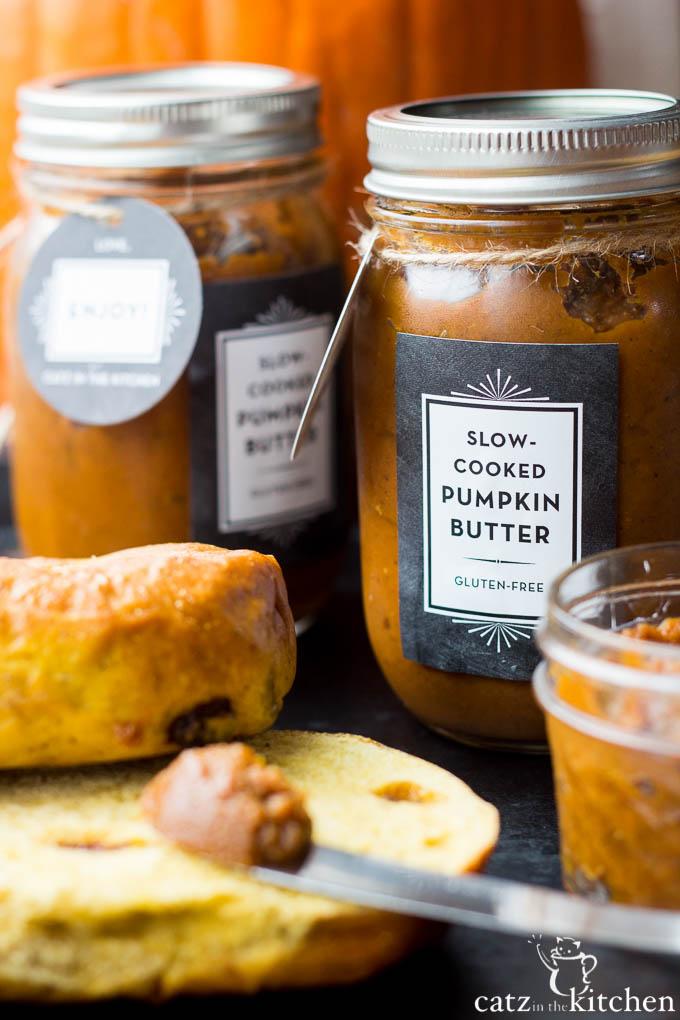 Slow-Cooker Pumpkin Butter | Catz in the Kitchen | catzinthekitchen.com | #slowcooker #pumpkin