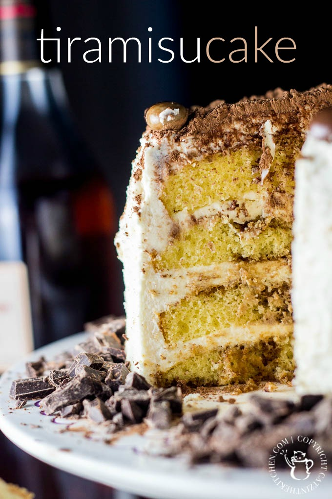 Tiramisu Cake | Catz in the Kitchen | catzinthekitchen.com | #tiramisu #cake #chocolate