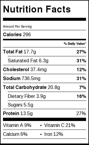 Vodka Penne Nutrition Facts   Catz in the Kitchen   catzinthekitchen.com   #penne #vodka #pasta