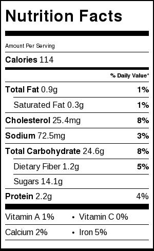 Nutrition Facts | Catz in the Kitchen | catzinthekitchen.com | #nutrition