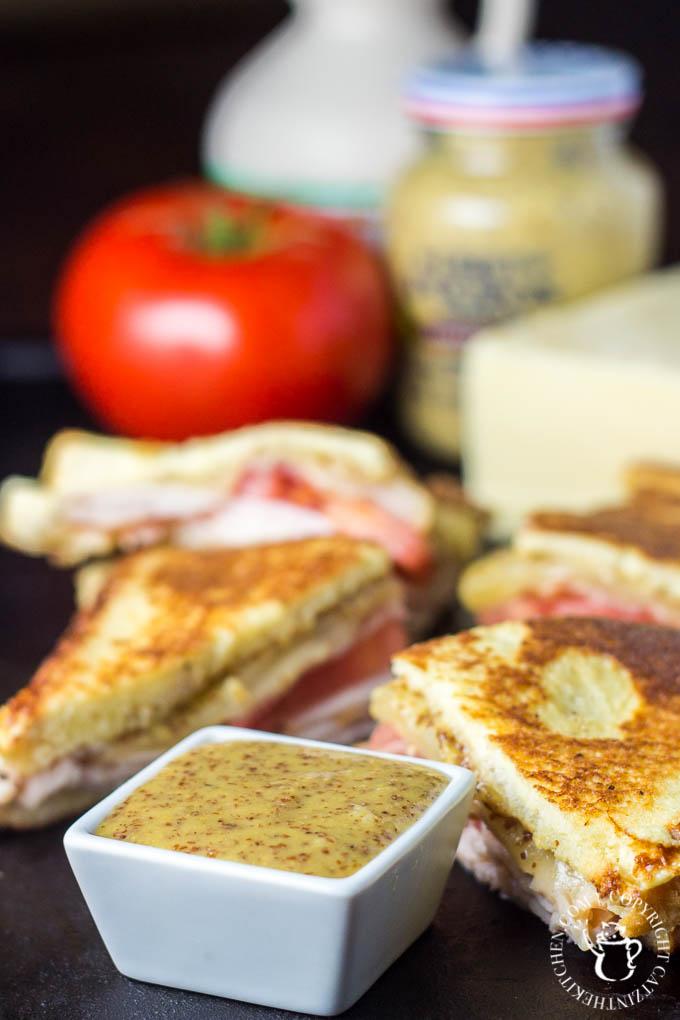 Monte Cristo Club   Catz in the Kitchen   catzinthekitchen.com   #montecristo #sandwich #club #recipe