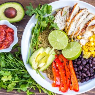 Baja Chicken Burrito Bowl