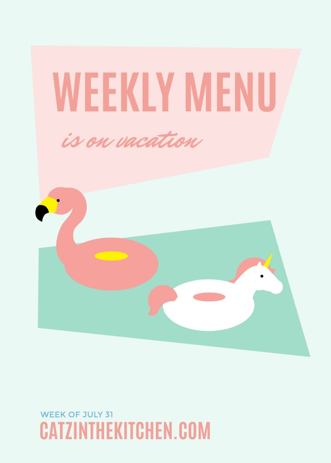 Weekly Menu | Catz in the Kitchen | catzinthekitchen.com | #menu #mealplan