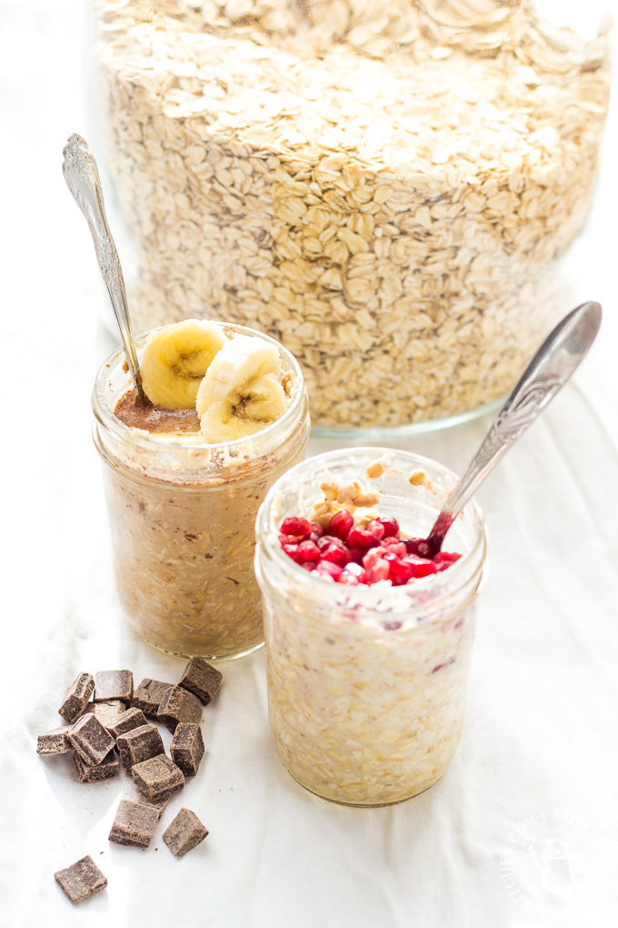 We customize these easy, healthy, & convenient Overnight Oats to make them