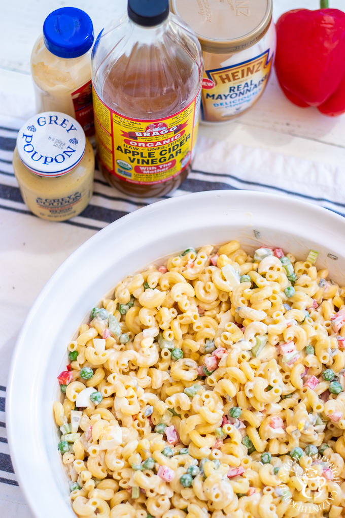 I've always loved the idea of macaroni salad, but never found one that excited me. This easy, preppable recipe does - for me it is the best macaroni salad!