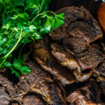 Special occasion, holiday dinner, family get together? Keep it low stress without sacrificing the wow factor with this slow cooker pot roast au jus recipe!