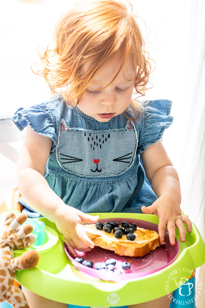 This simple brunch recipe for Orange and Mascarpone Toast with blueberries and honey puts delightful breakfast food on the table in about five minutes!
