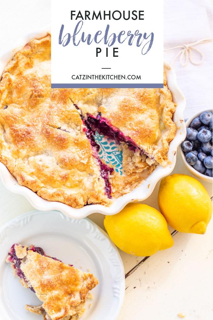 Farmhouse Blueberry Pie Recipe