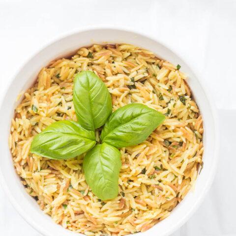 Creamy Parmesan Orzo