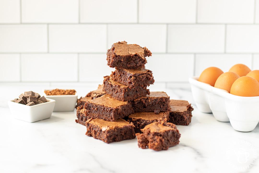 Classic Brownies ingredients