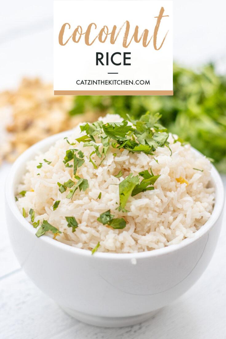 Coconut Rice side dish