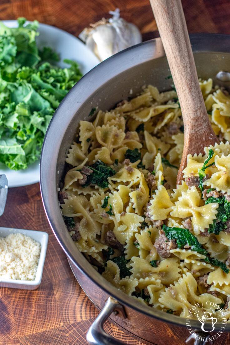 Kale & Sausage Pasta recipe